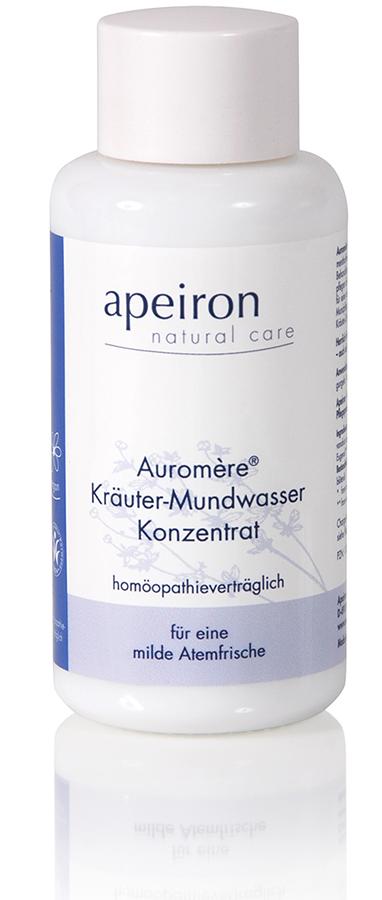 Auromère® Kräuter-Mundwasser Konzentrat - mentholfrei