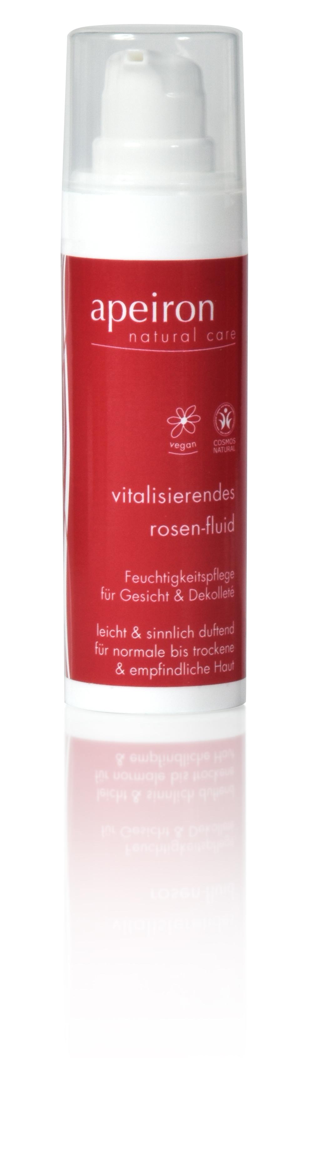 Vitalisierendes Rosen-Fluid - Feuchtigkeitspflege für Gesicht & Dekolleté