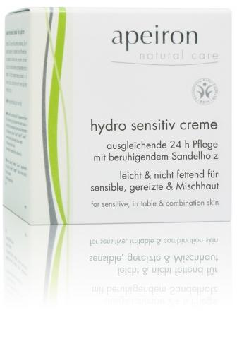 Hydro Sensitiv Creme - leichte Pflege für sensible Haut