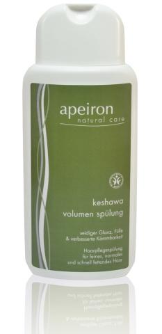 Keshawa Volumen Spülung - Haarpflegespülung für feines, normales und schnell fettendes Haar