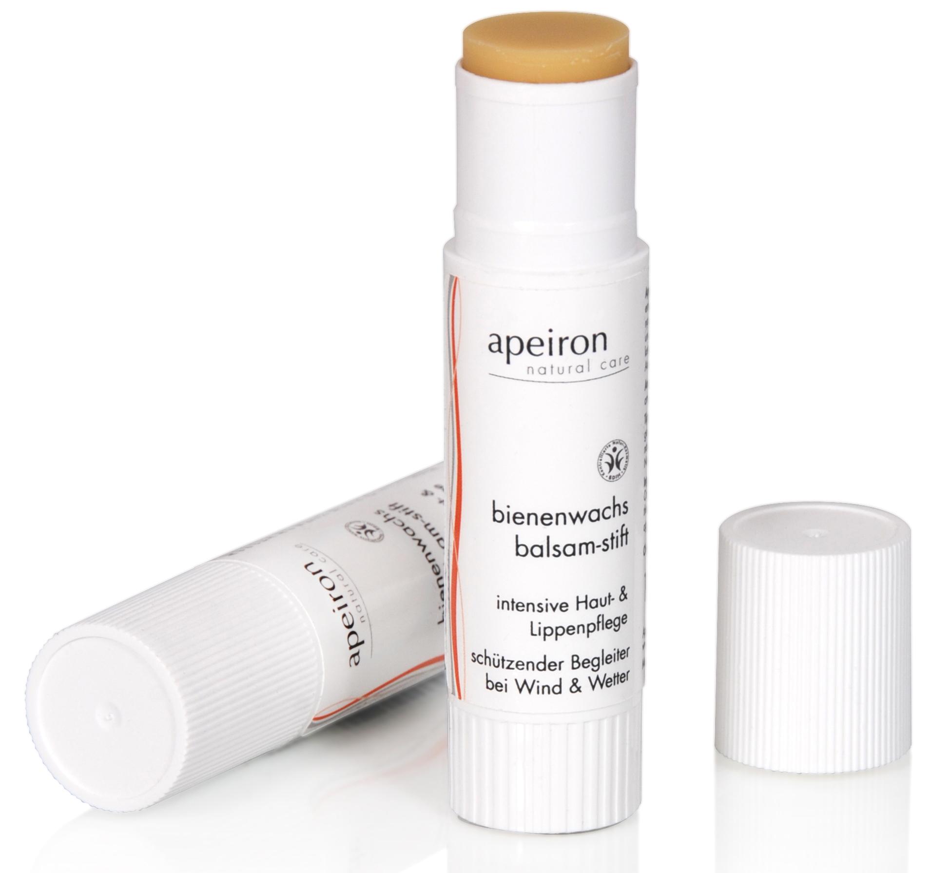 Bienenwachs Balsam-Stift - intensive Haut & Lippenpflege