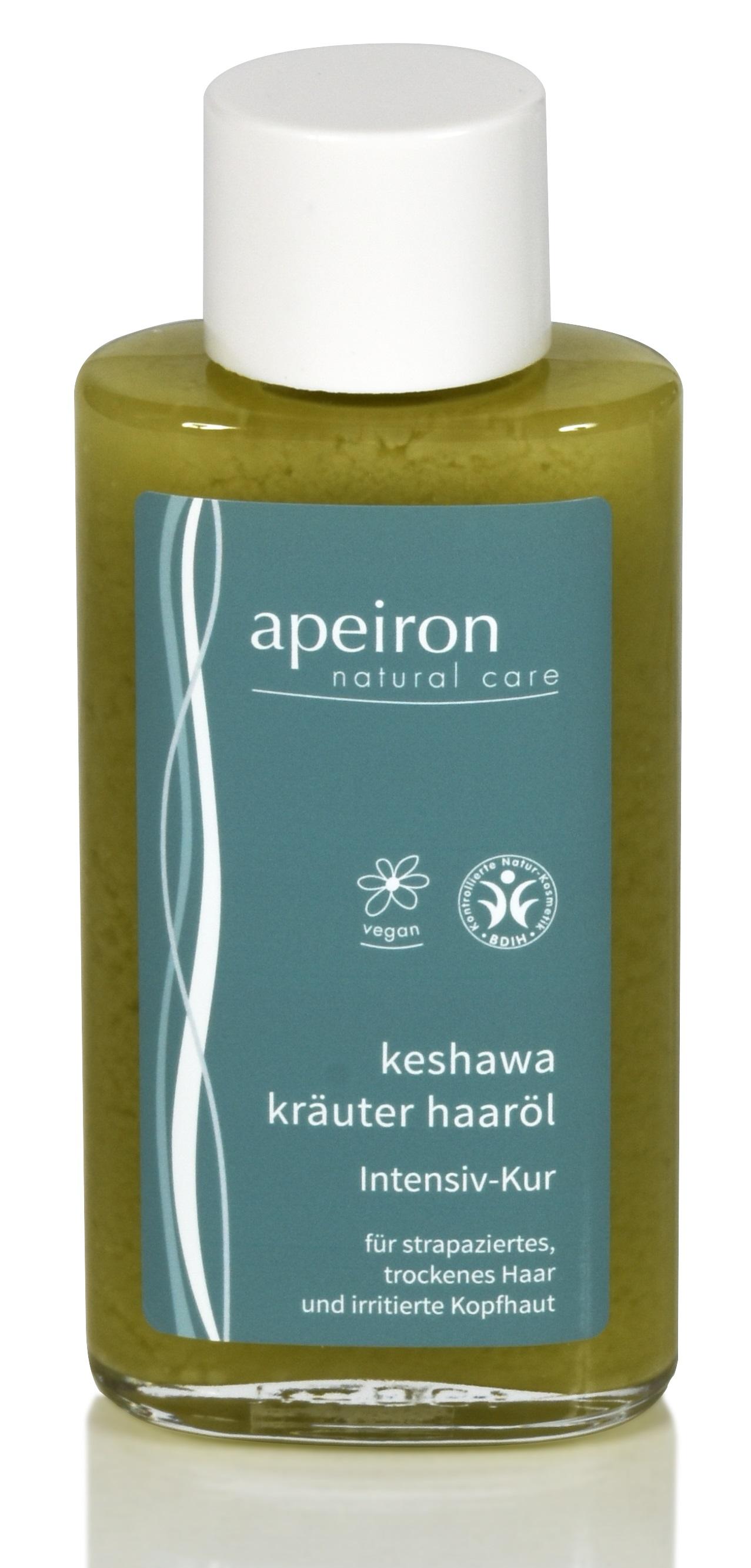 Keshawa Kräuter Haaröl - Intensiv-Kur für Haare & Kopfhaut